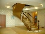 Винтовые лестницы из массива дерева