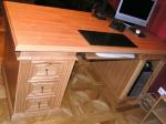Стол письменный из массива ясеня